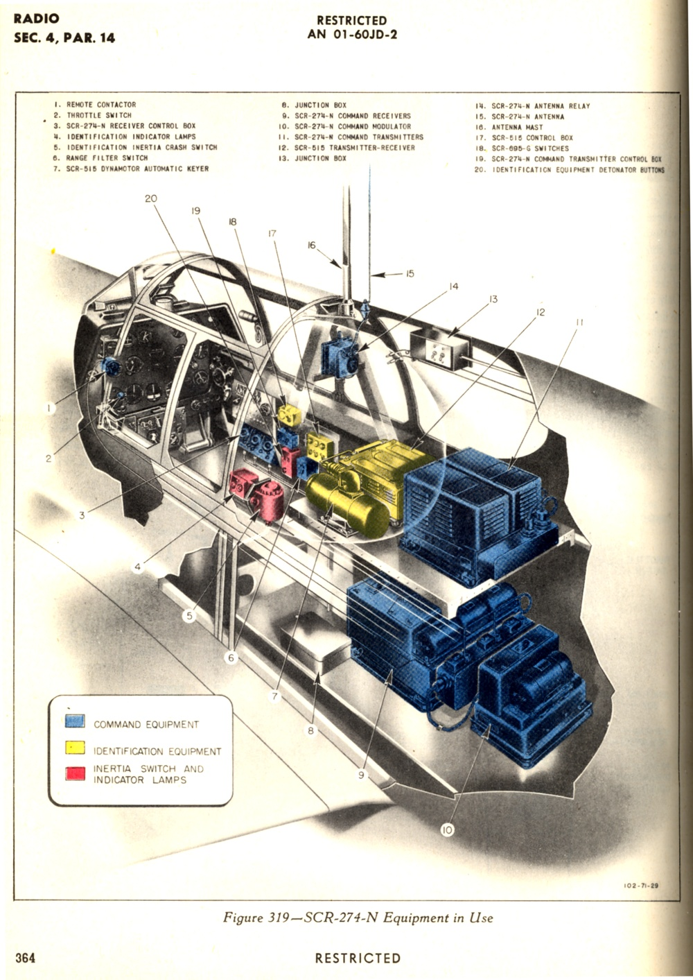 005p51 P 51 Engine Diagram Radio Installation With Scr 274n Type Command A Through C Mustang Iii